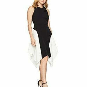Maggy London Women's Petite Crepe Sleeveless Dress